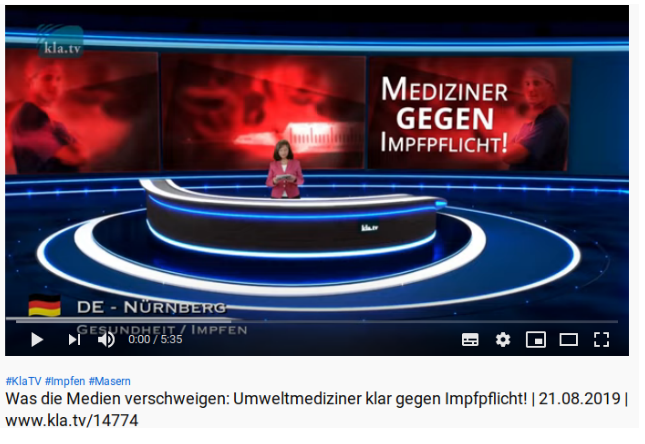 Impfgegner-Video